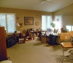 Before Family Room design