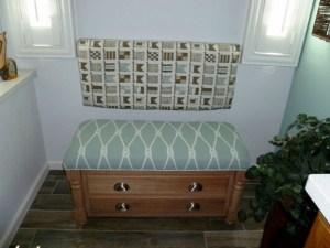 Custom Bench & backrest