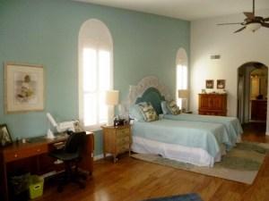 Ocean Inspired Master Bedroom